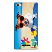 Capa Personalizada para Positivo S455 Selfie Cachorro Curtindo o Verão - PE61