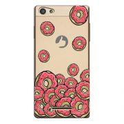 Capa Personalizada para Positivo S455 Selfie Eu Amo Donuts - TP108