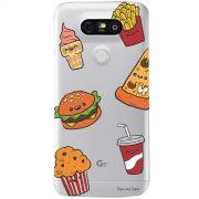 Capa Personalizada para LG G5 H840 Eu Amo Comida- TP106