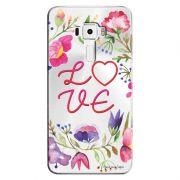 Capa Transparente Personalizada para Asus Zenfone 3 5.5 ZE552KL Love - TP156