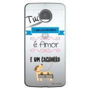 Capa Personalizada para Motorola Moto Z Play 5.5 XT1635 Frases - TP147