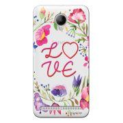 Capa Transparente Personalizada para Lenovo Vibe C2 Love - TP156