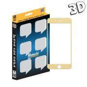 Película 3D para Apple Iphone 7 - Dourada