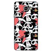 Capa Personalizada para Samsung Galaxy A9 A910 Love Panda - LV21