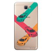 Capa Transparente Personalizada para Galaxy j7 Prime Carros - TP16