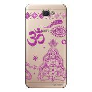 Capa Transparente Personalizada para Galaxy j7 Prime Hippie - TP65