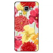 Capa Transparente Personalizada para Samsung Galaxy A9 A910 Flores - TP35