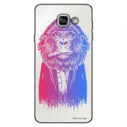 Capa Transparente Personalizada para Samsung Galaxy A9 A910 Macaco - TP50