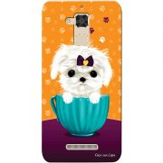 Capa Personalizada para Asus Zenfone 3 Max 5.2 ZC520TL Cachorro no Pote - DE03