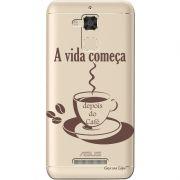 Capa Personalizada para Asus Zenfone 3 Max 5.2 ZC520TL Café - TP01