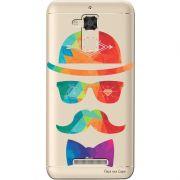 Capa Transparente para Asus Zenfone 3 Max 5.2 ZC520TL Mustache - TP13