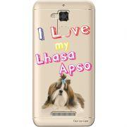Capa Transparente para Asus Zenfone 3 Max 5.2 ZC520TL Eu Amo Meu Lhasa Apso - TP78