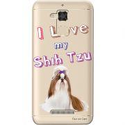 Capa Transparente para Asus Zenfone 3 Max 5.2 ZC520TL Eu Amo Meu Shih-Tzu - TP85