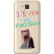 Capa Transparente para Asus Zenfone 3 Max 5.2 ZC520TL Eu Amo Meu Yorkshire - TP87