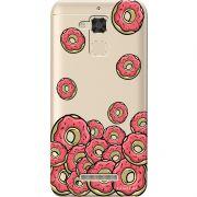 Capa Personalizada para Asus Zenfone 3 Max 5.2 ZC520TL Eu Amo Donuts - TP108