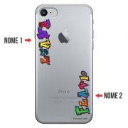 Capa Personalizada Com Nome para Iphone 7 - NM05