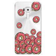 Capa Personalizada para Asus Zenfone 3 5.7 Deluxe ZS570KL Eu Amo Donuts - TP108