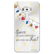 Capa Personalizada para Asus Zenfone 3 5.7 Deluxe ZS570KL Frases - TP115