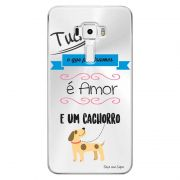 Capa Personalizada para Asus Zenfone 3 5.7 Deluxe ZS570KL Frases - TP147