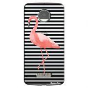 Capa Personalizada para Motorola Moto Z Play Flamingos - TP317