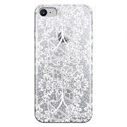 Capa Personalizada para Apple Iphone 7 Renda Branca - TP283
