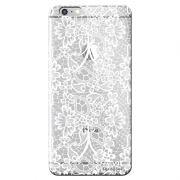 Capa Personalizada para Apple Iphone 6/6S Plus Renda Branca - TP283