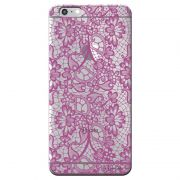 Capa Personalizada para Apple Iphone 6/6s Renda Roxa - TP281