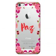Capa Personalizada para Apple iPhone 5 5S SE Paz - TP268