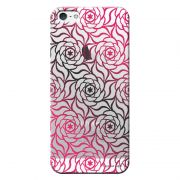 Capa Personalizada para Apple Iphone 5 5S SE Flores - TP272