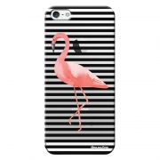 Capa Personalizada para Apple Iphone 5 5S SE Flamingo - TP317