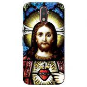 Capa Personalizada para Motorola Moto G4 Plus Jesus - RE02