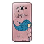 Capa Personalizada para Samsung Galaxy j2 Prime Outono - OT01