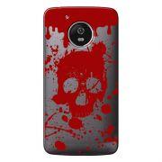Capa Personalizada para Motorola Moto G5 XT1676 Caveira - TP243
