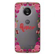 Capa Personalizada para Motorola Moto G5 XT1676 Amor - TP267