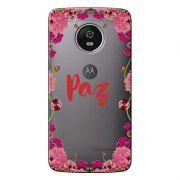 Capa Personalizada para Motorola Moto G5 XT1676 Paz - TP268