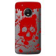 Capa Transparente Exclusiva para  Motorola Moto G5 Plus Caveira - TP243