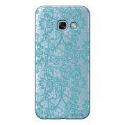 Capa Personalizada para Samsung Galaxy A5 2017 Renda Azul - TP280
