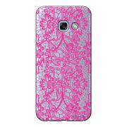 Capa Personalizada para Samsung Galaxy A5 2017 Renda Pink - TP282