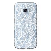 Capa Personalizada para Samsung Galaxy A5 2017 Renda Branca - TP283