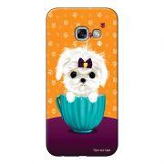 Capa Personalizada para Samsung Galaxy A5 2017 Cachorro no Pote - DE03
