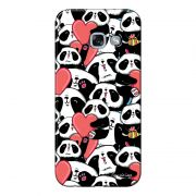 Capa Personalizada para Samsung Galaxy A5 2017 Love Panda - LV21