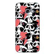 Capa Personalizada para Samsung Galaxy A7 2017 Love Panda - LV21