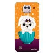 Capa Personalizada para LG X Cam K580 Cachorro no Pote - DE03