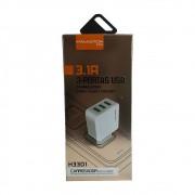 Adaptador de Tomada com 3 USB - H'Maston