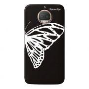Capa Grafite Personalizada Motorola Moto G5S Plus XT1782 - Borboleta - GF10