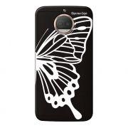 Capa Grafite Personalizada Motorola Moto G5S Plus XT1782 - Borboleta - GF11