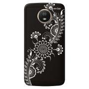Capa Grafite Personalizada Motorola Moto G5S XT1792 - Flor Tribal - GF09