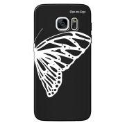 Capa Grafite Personalizada Samsung Galaxy S7 Edge G935 - Borboleta - GF10