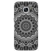 Capa Grafite Personalizada Samsung Galaxy S7 Edge G935 - Mandala - GF03