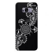 Capa Grafite Personalizada Samsung Galaxy S8 Plus G955 - Flor Tribal - GF09